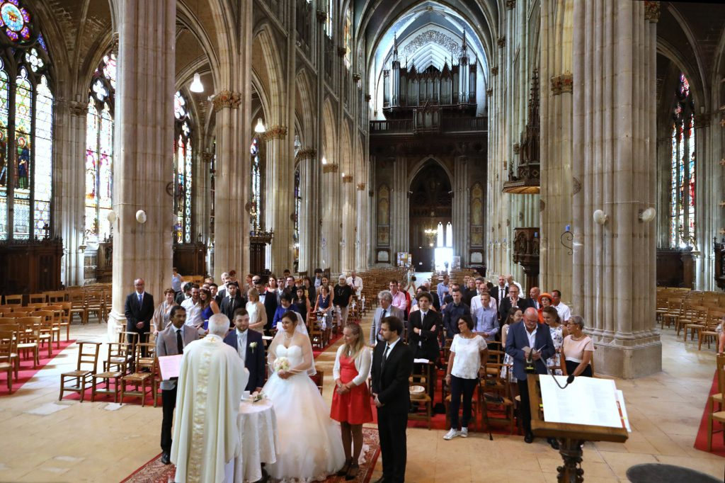 Mariage à Nancy à la Basilique Saint-Epvre